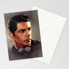 Paul Muni, Vintage Actor Stationery Cards