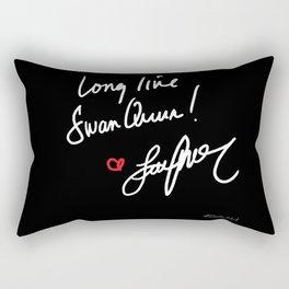 Long live Swan Queen! Rectangular Pillow