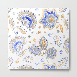 Design Textil Parsley Metal Print