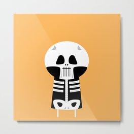 My Little Skeleton. Metal Print