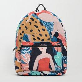Tropical Girl Backpack