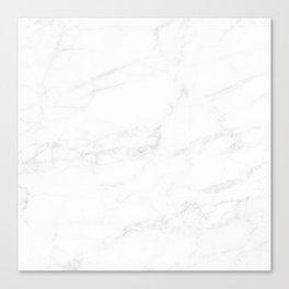 White Marble II Canvas Print