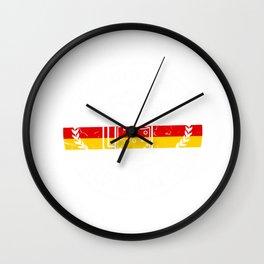 Oktoberfest Beer Time - Bavaria Prost Gift Wall Clock