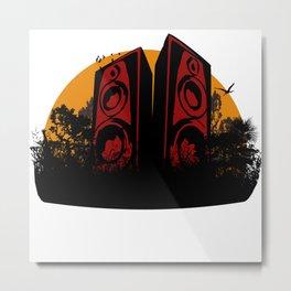 JUNGL SOUNDS Metal Print