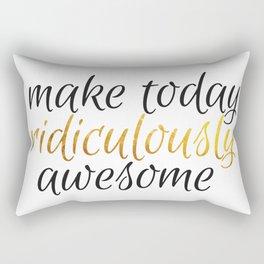 ridiculously awesome Rectangular Pillow