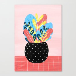 Pastel Florals Canvas Print