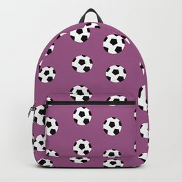 Neck Gaiter Soccer Balls Purple Soccer Team Neck Gator Backpack