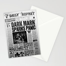 Daily Prophet newspaper Stationery Cards