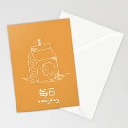 Orange Juice (mainichi) Stationery Cards