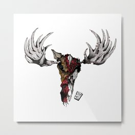 Oh Deer! colour 2020 Metal Print