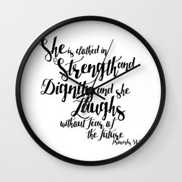 She is ... Wall Clock
