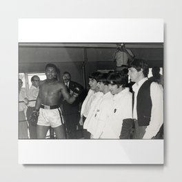 Cassius Marcellus Clay Jr. - BLM - Black - Power - Muhammad - The Greatest Of All Time - Ali pp0 Metal Print