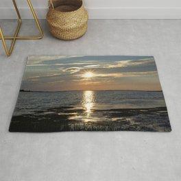 Watercolor Sunset, Janes Island 08, Maryland Rug
