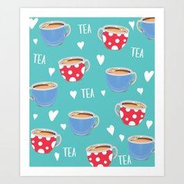 Love Tea Art Print