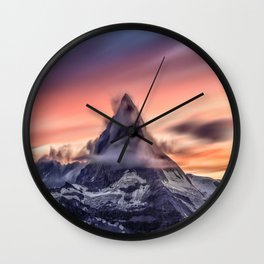 Ruthless Beauty Wall Clock