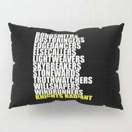 knights radiant Pillow Sham