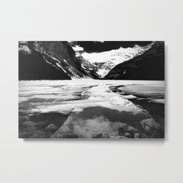 Lake Louise Victoria Glacier Alberta Canada Metal Print