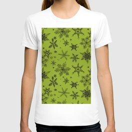 Snow Flakes 10 T-shirt