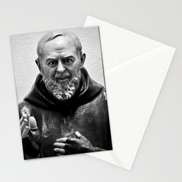 Padre Pio Stationery Cards