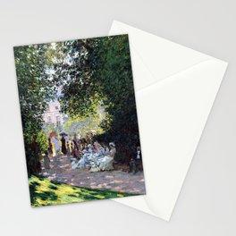 Claude Monet The Parc Monceau Stationery Cards