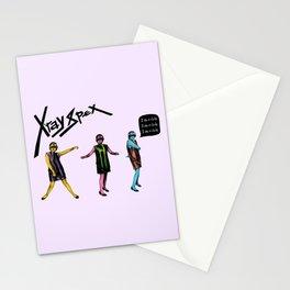 Poly Styrene of X-Ray Spex Stationery Cards
