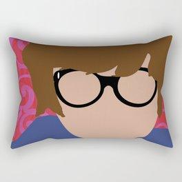 Austin Powers Rectangular Pillow