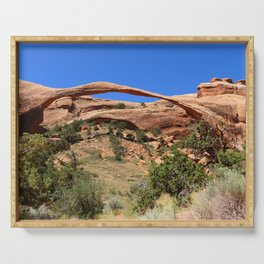 Beautiful Landscape Arch Serving Tray
