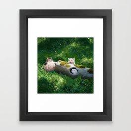 Their lög Framed Art Print
