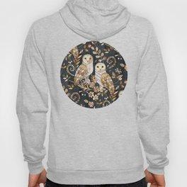 Wooden Wonderland Barn Owl Collage Hoodie