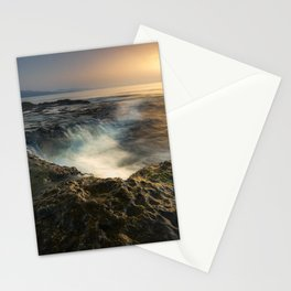 Sunrise in Cabo Cope, Aguilas, Murcia, Spain Stationery Cards