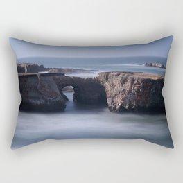 Keyhole Rock Arches Point Arena California Rectangular Pillow