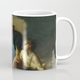 "Jean-François Millet ""Retreat from the Storm"" Coffee Mug"