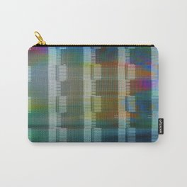 Analogue Glitch Rainbow Blocks Carry-All Pouch