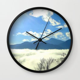 Winter in Slovenia Wall Clock