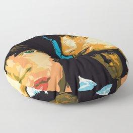 Rolling Stones Rock Album 1976 Floor Pillow
