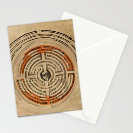 misterio visual 16: laberinto de luz Stationery Cards