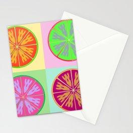 Unordinary orange fruit Stationery Cards