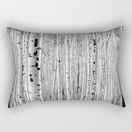 Aspen Tree Maze Rectangular Pillow