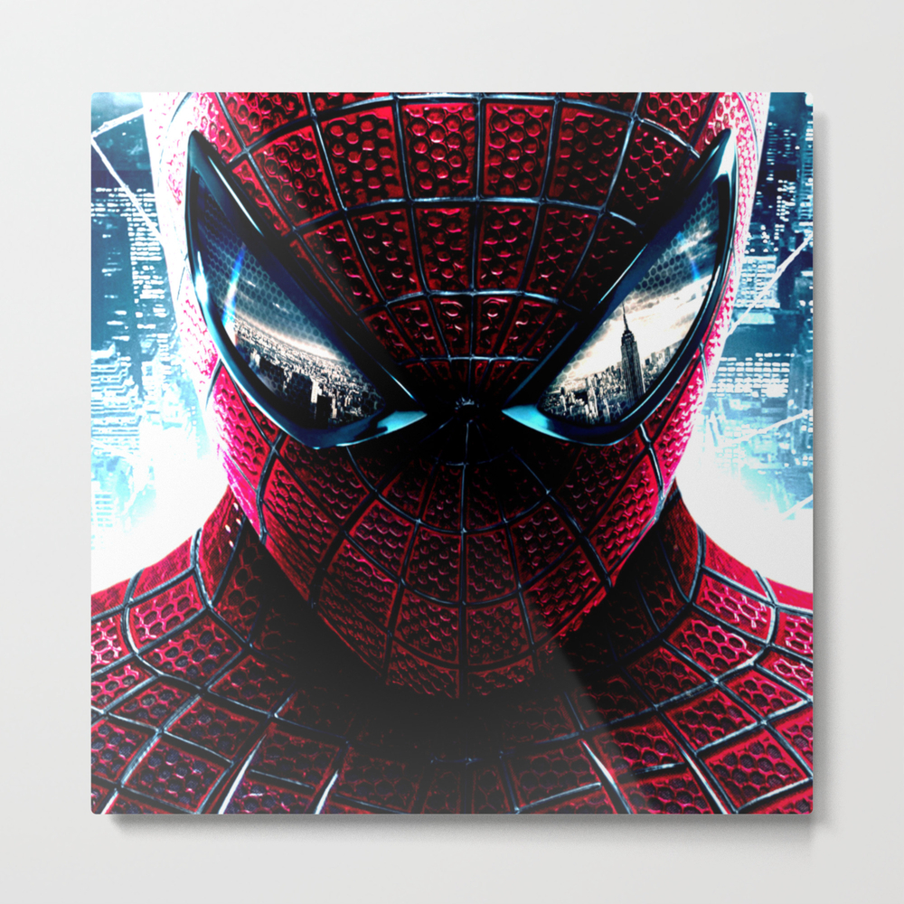 Spider Man Metal Print by Yellowgold MTP7786464