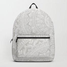 Mandala Soft Gray Backpack