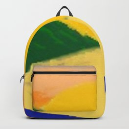 Setting Sun Along The Lake (Coloured) Backpack