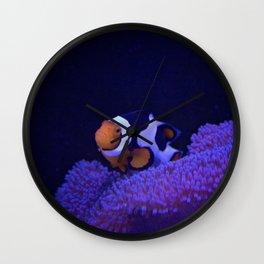 Clownfish at Home Wall Clock