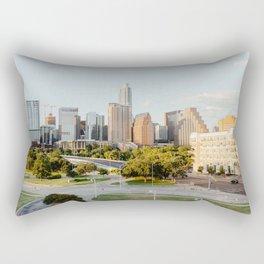 Austin, TX Skyline Rectangular Pillow