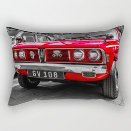 Red Car Rectangular Pillow