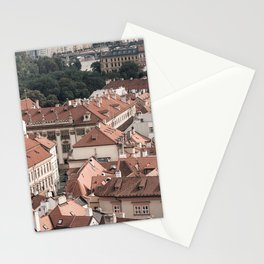 Prague Rooftop 06 Stationery Cards