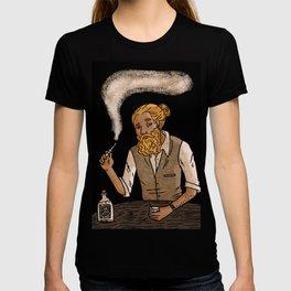 Man with beard T-shirt