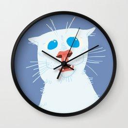 Kucing Oh Wow Wall Clock