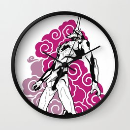 Evangelion Clouds Wall Clock