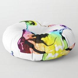 Pit bull | Rainbow Series | Pop Art Floor Pillow
