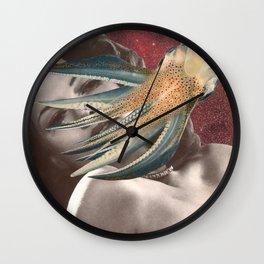 Cephalopod Affair Wall Clock